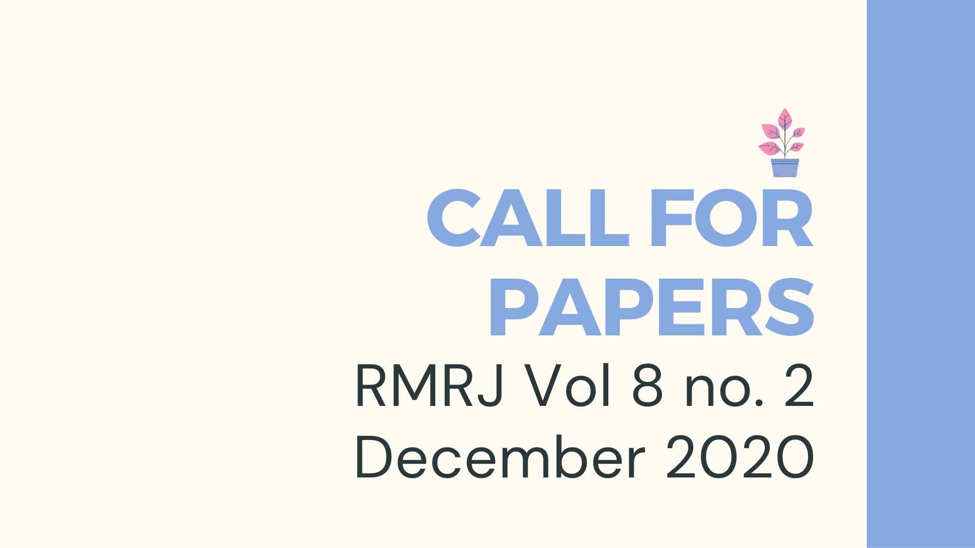 banner_CALL_FOR_PAPERS_rmrj_VOL._8_NO_._