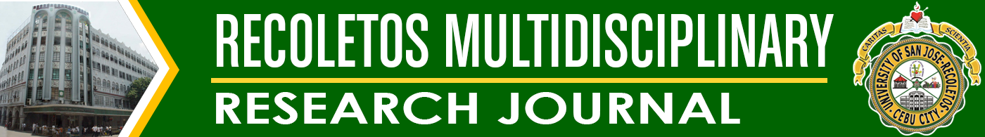 Recoletos Multidisciplinary Research Journal